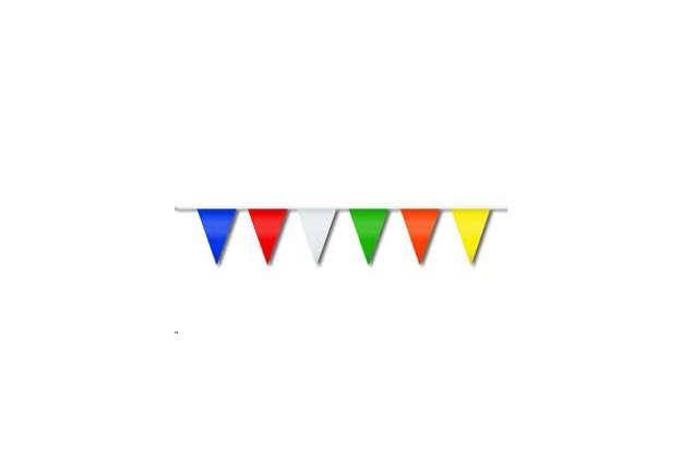 Immagine di Bandierine colorate 10m