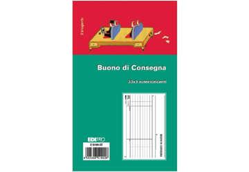 Immagine di Buono consegna 33/33/33 autoricalcanti f.to 9.9x17cm