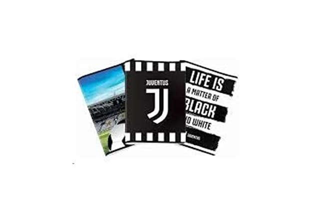 Immagine di Quaderno A4 Juventus righe 3 elementare 0B