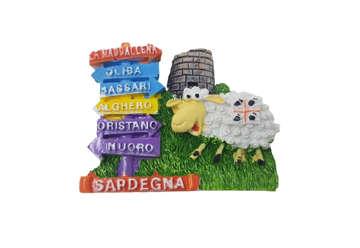 Immagine di Magnete resina Pecorella e indicazioni