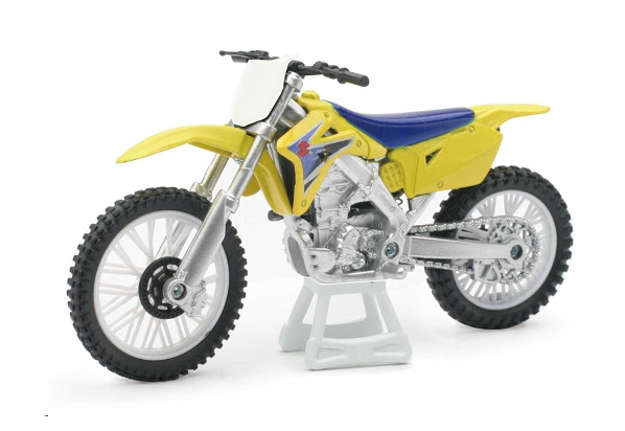 Immagine di Die-cast Japan dirt bike - Suzuki scala 1:18