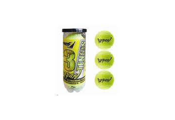 Immagine di Tubo 3 palline tennis Leopard gialle