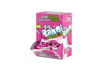 Immagine di Big Babol panna e fragola monopezzo box 200pz