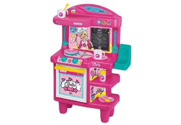 Immagine di Cucina di Barbie 68cm con Barbie