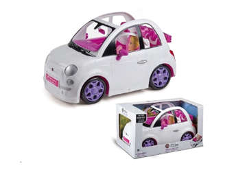 Immagine di Fiat 500 bianca fashion per bambole
