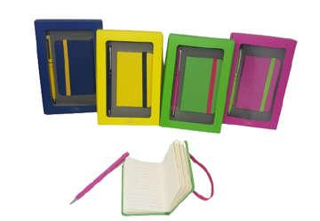 Immagine di Set regalo penna + block notes 6.5x10cm
