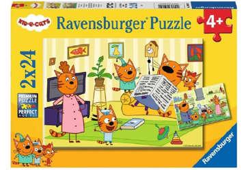 Immagine di Puzzle 2 x 24 pz Kid e Cats