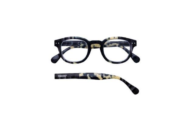 Immagine di Occhiale da lettura Zippo +3.00 nero marmorizzato