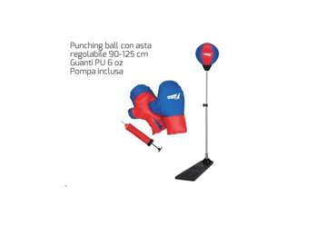Immagine di Boxe 'punchingball set' c/guantoni