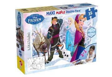 Immagine di Puzzle supermaxi Frozen 35pz 2in1