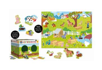 Immagine di Montessori maxi  -  la mia fattoria