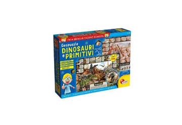 Immagine di I'm a genius - Geopuzzle -  Dinosauri e primitivi