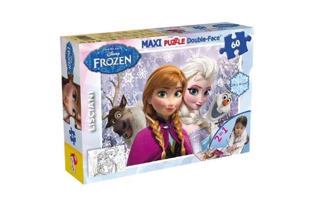 Immagine di Puzzle plus 60 Frozen sisters forever  double face