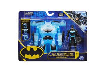 Immagine di Personaggio Batman Deluxe con Armatura Tech 10 cm