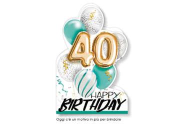 Immagine di Biglietto 40 Anni