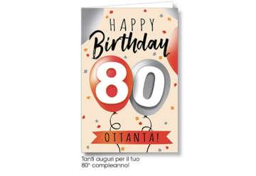 Immagine di Biglietto 80 Anni