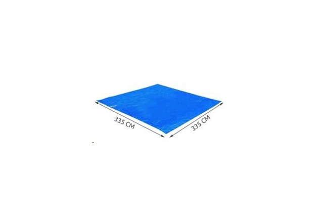 Immagine di Tappetto sotto piscina quadrato cerato 335cm