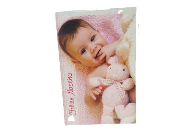 Immagine di Biglietto nascita bimba