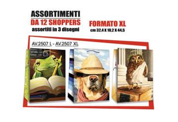 Immagine di Confezione 12 Shopper Avanti XL 32x44cm