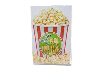 Immagine di Biglietto auguri compleanno pop corn