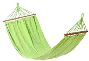 Immagine di Amaca verde con supporto 200x100cm