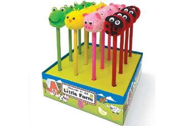 Immagine di Confezione 16 matite Peluche Animali