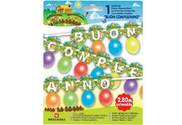 Immagine di Kit festone palloncini  Fattoria Buon Compleanno