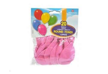 Immagine di Busta 20 palloni medium Rosa