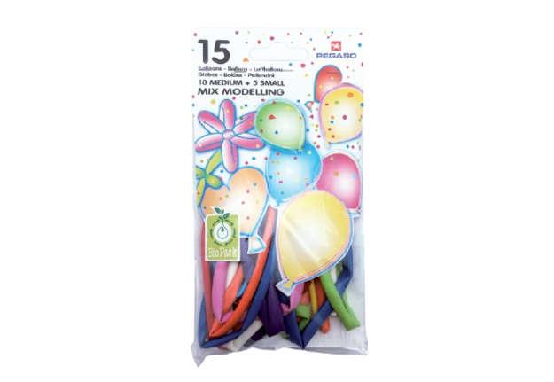 Immagine di Busta 15 palloncini modellabili