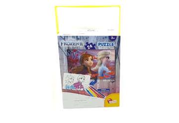 Immagine di Puzzle Frozen  in a Bag 24pz double face