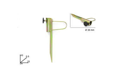 Immagine di Picchetto in ferro 43 cm per ombrellone