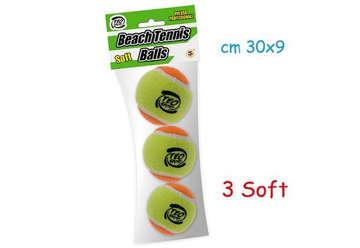 Immagine di Beach tennis soft ball 3pz