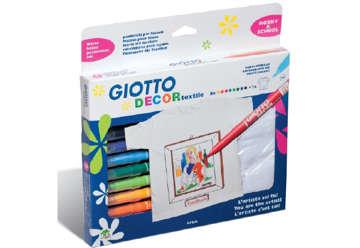 Immagine di Conf.8 pennarelli Giotto + T-shirt