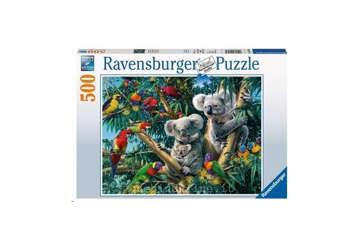 Immagine di Puzzle 500pz koala nell'albero