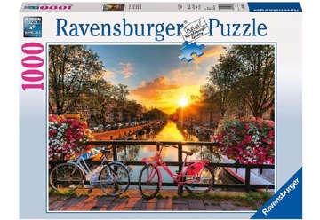 Immagine di Puzzle 1000 Pz Biciclette ad Amsterdam