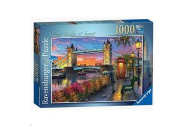 Immagine di Puzzle 1000 Pz-Tower Bridge  al Tramonto