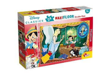 Immagine di Disney Puzzle 24 Pz Pinocchio - double face