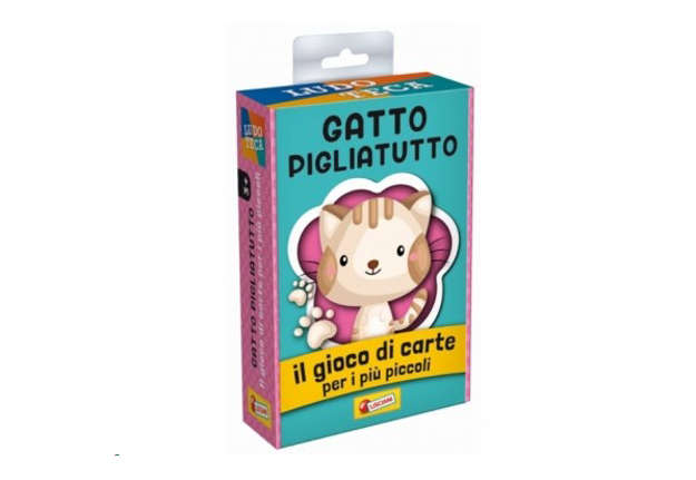 Immagine di Le carte dei bambini - gatto pigliatutto