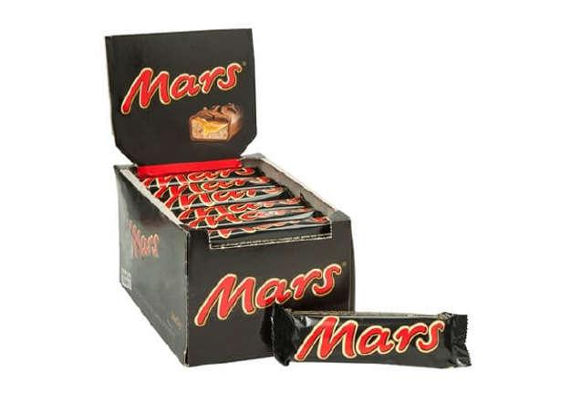 Immagine di Mars 51gr box 32 pezzi