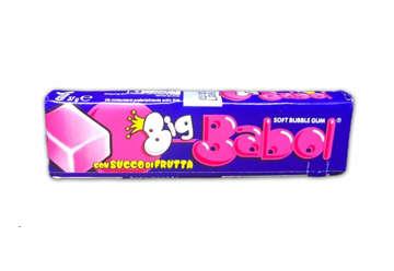 Immagine di Big Babol Tutti frutti stick expo 24 pz