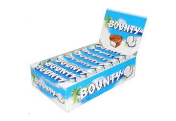 Immagine di Bounty 57gr box 24 pezzi