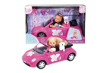 Immagine di Evi Love con auto