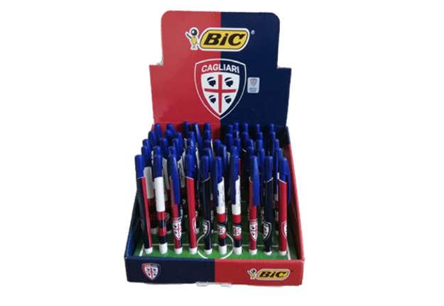 Immagine di Bic penna media click Cagliari Calcio