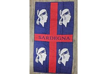 Immagine di Telo Mare 4 Mori Sardegna 90x165cm 100% cotone