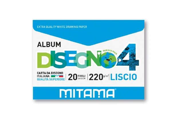 Immagine di Album Disegno Ecobusta, Liscio 20 fg. 24x33 220 gr.
