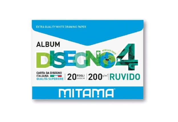Immagine di Album Disegno Ecobusta, Ruvido 20 fg. 24x33 200 gr.