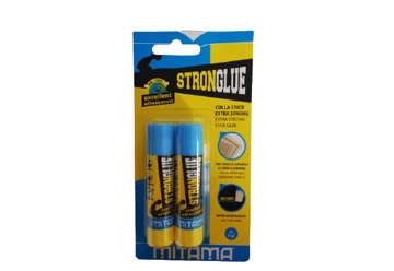 Immagine di Colla Stick 8gr. Mitama Strong Glue, solvent free, Bl. 2 pz