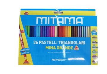 Immagine di Pastelli Mitama Triang. Laccato, mina 3.3, Scat.36 pz